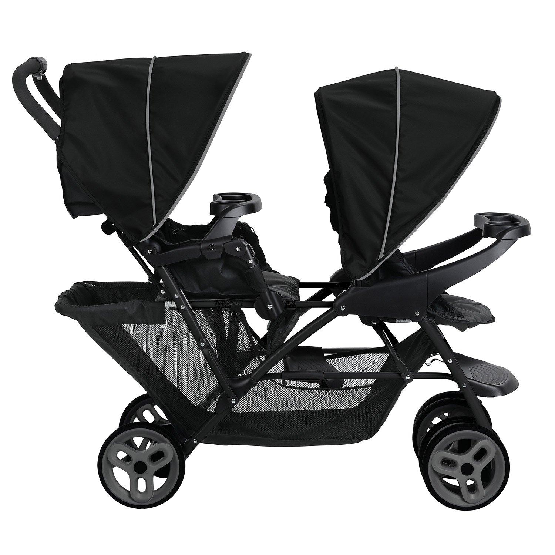 Graco 2031879 Stadium Duo-Kinderwagen mit Click Connect-Technologie ...