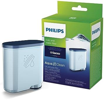 Philips CA6903/10 Filtro de Agua Aquaclean para Máquinas de Café Espresso Automáticas, Plástico, Verde: Amazon.es: Hogar