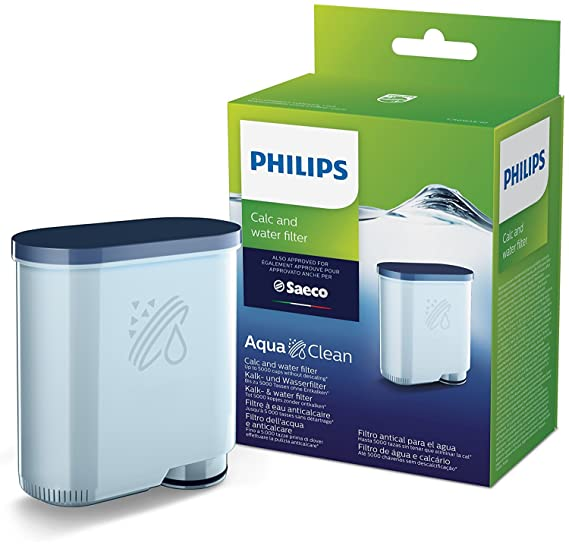 Philips CA6903/10 Filtro de Agua Aquaclean para Máquinas de Café Espresso Automáticas Plástico, Verde: Amazon.es: Hogar