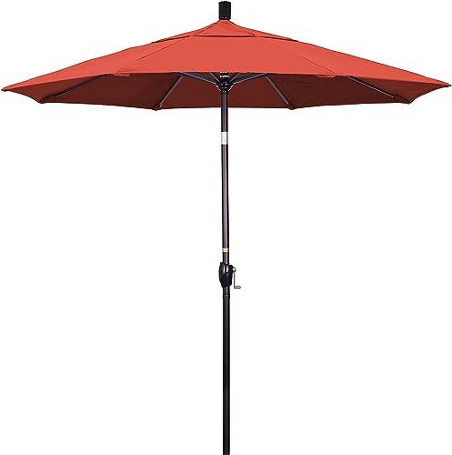 California Umbrella GSPT758117-5440 7.5' Round Aluminum Market