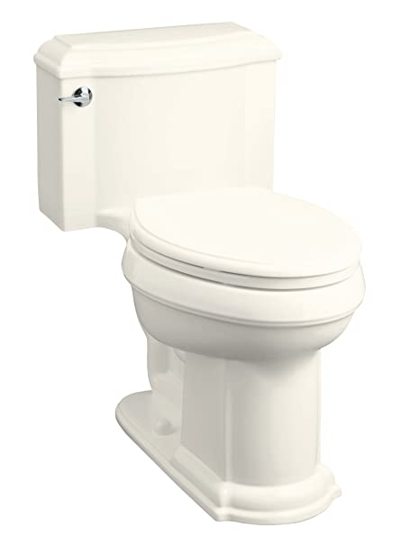 Phenomenal Kohler K 3488 96 Devonshire Comfort Height One Piece Elongated Toilet Biscuit Theyellowbook Wood Chair Design Ideas Theyellowbookinfo