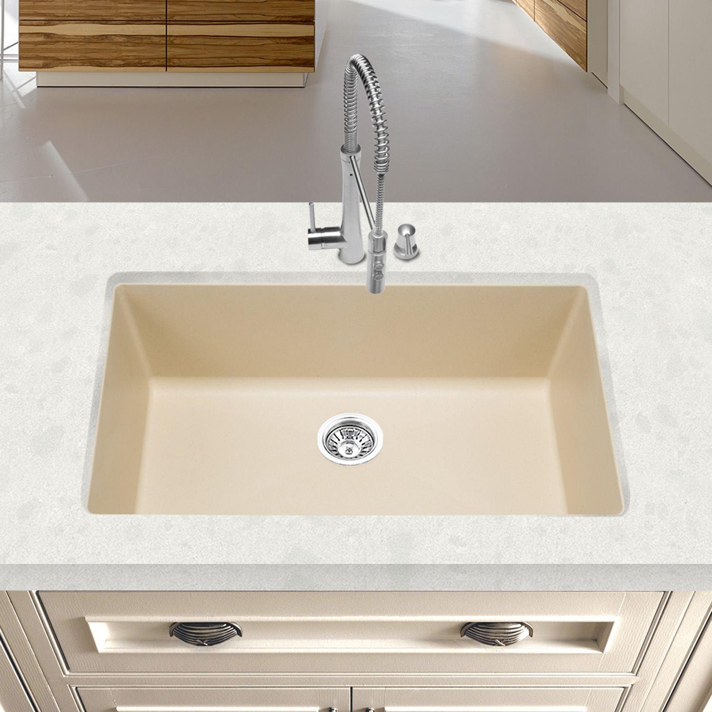 Biscotti Blanco 441299 Precis Super Single Bowl Sink