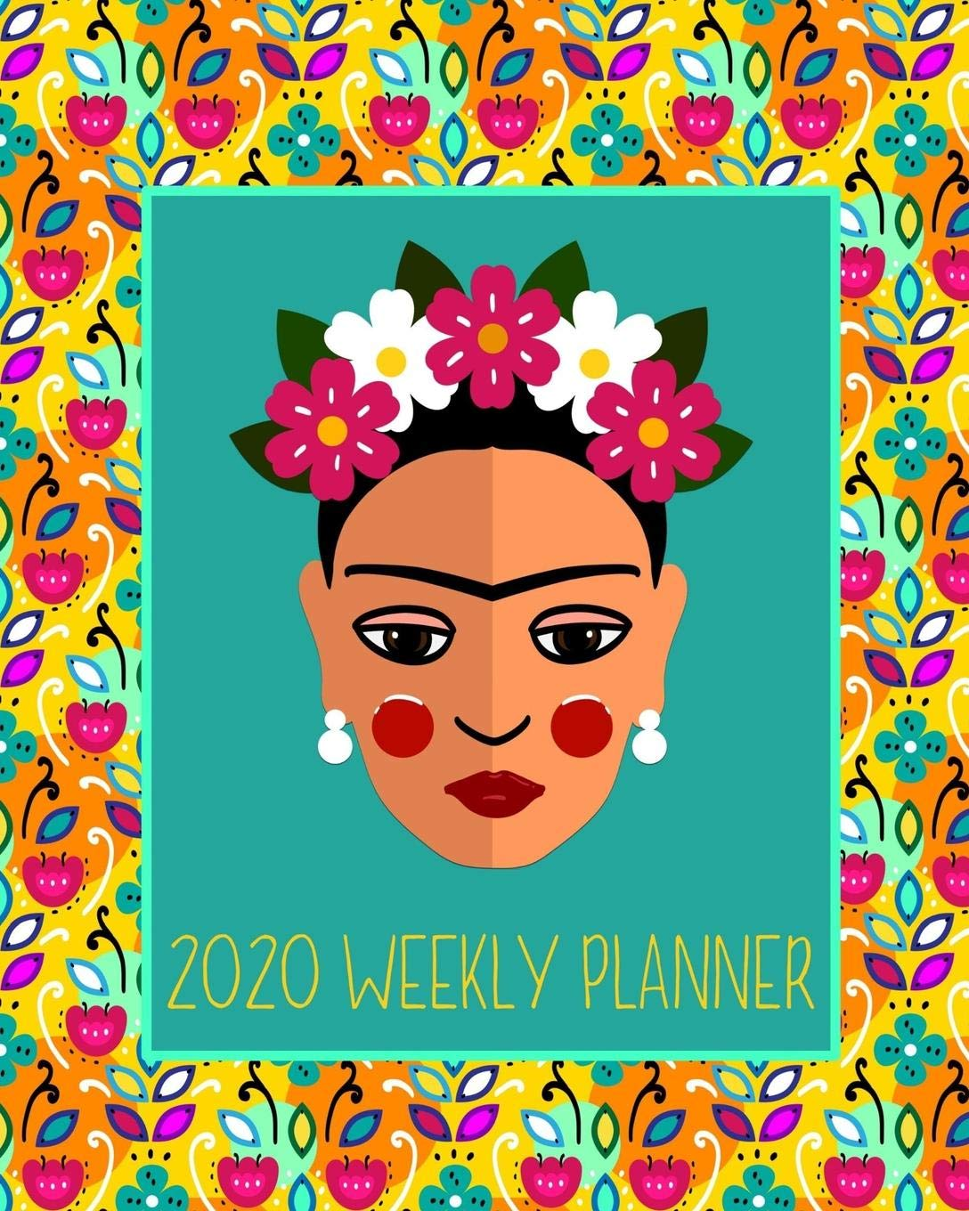 2020 Weekly Planner: 12 month, 52 week planner, featuring a ...