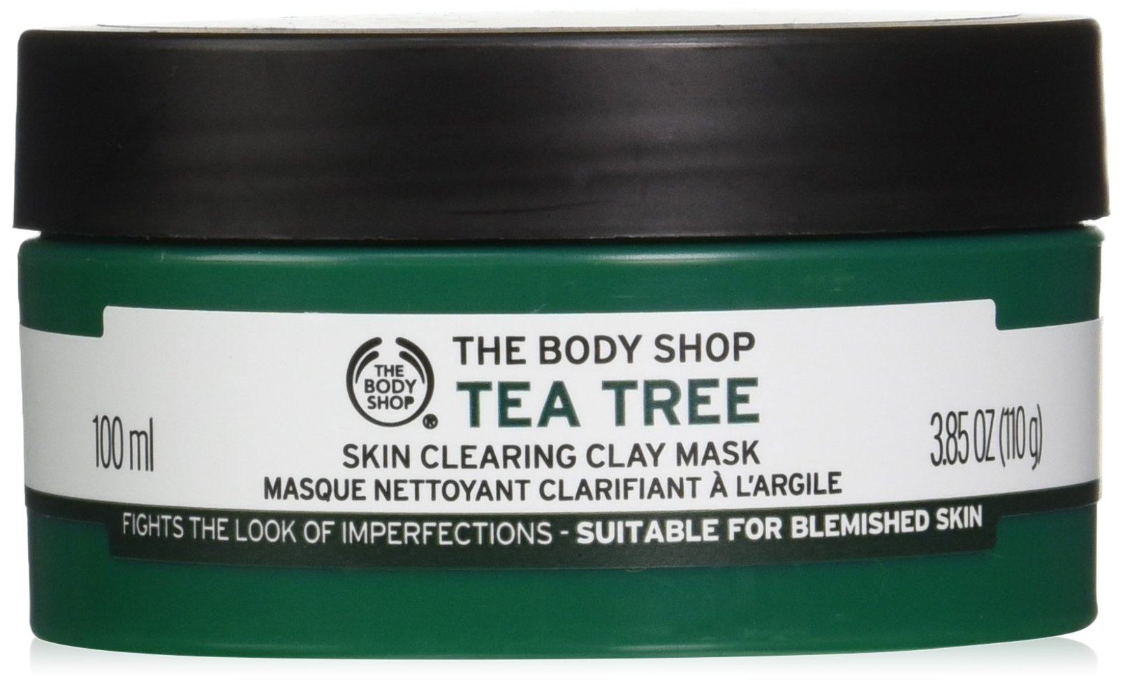 The Body Shop Tea Tree Skin Clearing Clay Face Mask, 3.85 Oz by The Body Shop