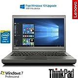 Lenovo ThinkPad T440p (20AWS0Q300) 14 inch Laptop Intel Core i5 4210M / 2.6 GHz Processor with Turbo upto 3.2 GHz, 4GB RAM, 320 GB HDD, 1366 x 768 Resolution, Light Weight 1.9 Kg, WiFi, No Webcam, Smart Card Reader, Fingerprint Reader, Windows 7 Professional