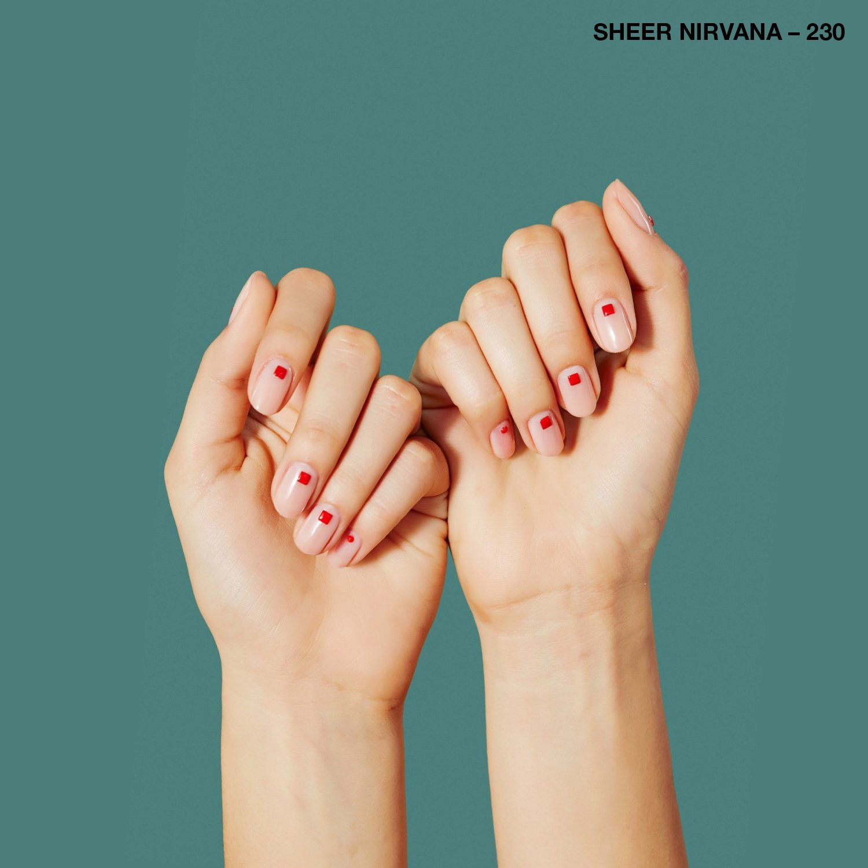 Amazon.com : Sally Hansen Color Therapy Nail Polish, Sheer Nirvana ...
