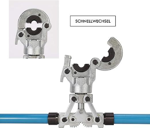 Presszange Press-Fitting Handzange Rohrpresszange Pressbacken 360°