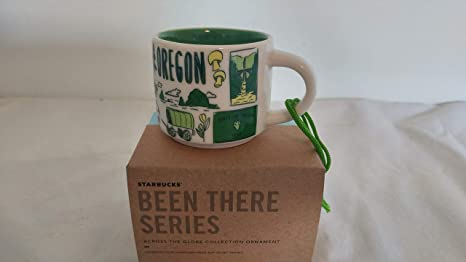 Starbucks OREGON BEEN THERE SERIES Across Globe Collection 2oz Mini Mug Ornament