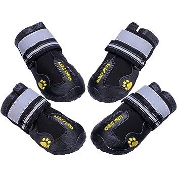 Amazon.com : HaveGet Waterproof Dog Shoes Fluorescent