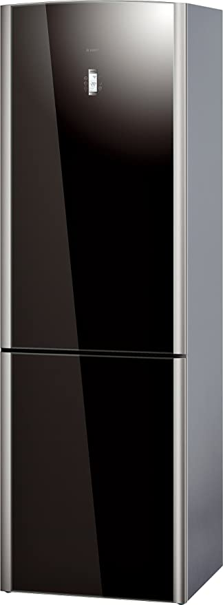 Bosch KGN36S57 nevera y congelador Independiente Negro A+ ...