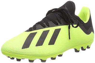 best website c4acd cca9c adidas Herren X 18.3 AG Fußballschuhe, Gelb (Amasol Negbás Ftwbla 001)