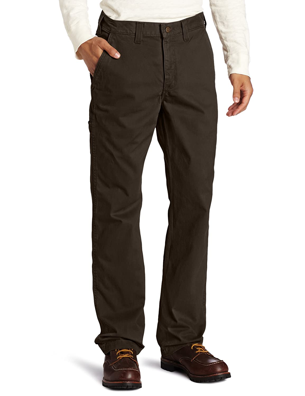 Carhartt Men's Relaxed Fit Rugged Work Khaki Pant Carhartt Sportswear - Mens 100095
