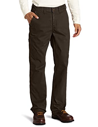 Amazon.com: Carhartt Men's Relaxed Fit Rugged Work Khaki Pant ...