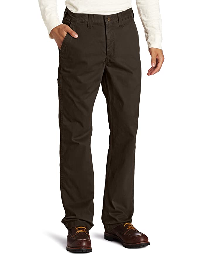 Amazon.com: Carhartt Men's Relaxed Fit Rugged Work Khaki Pant ...