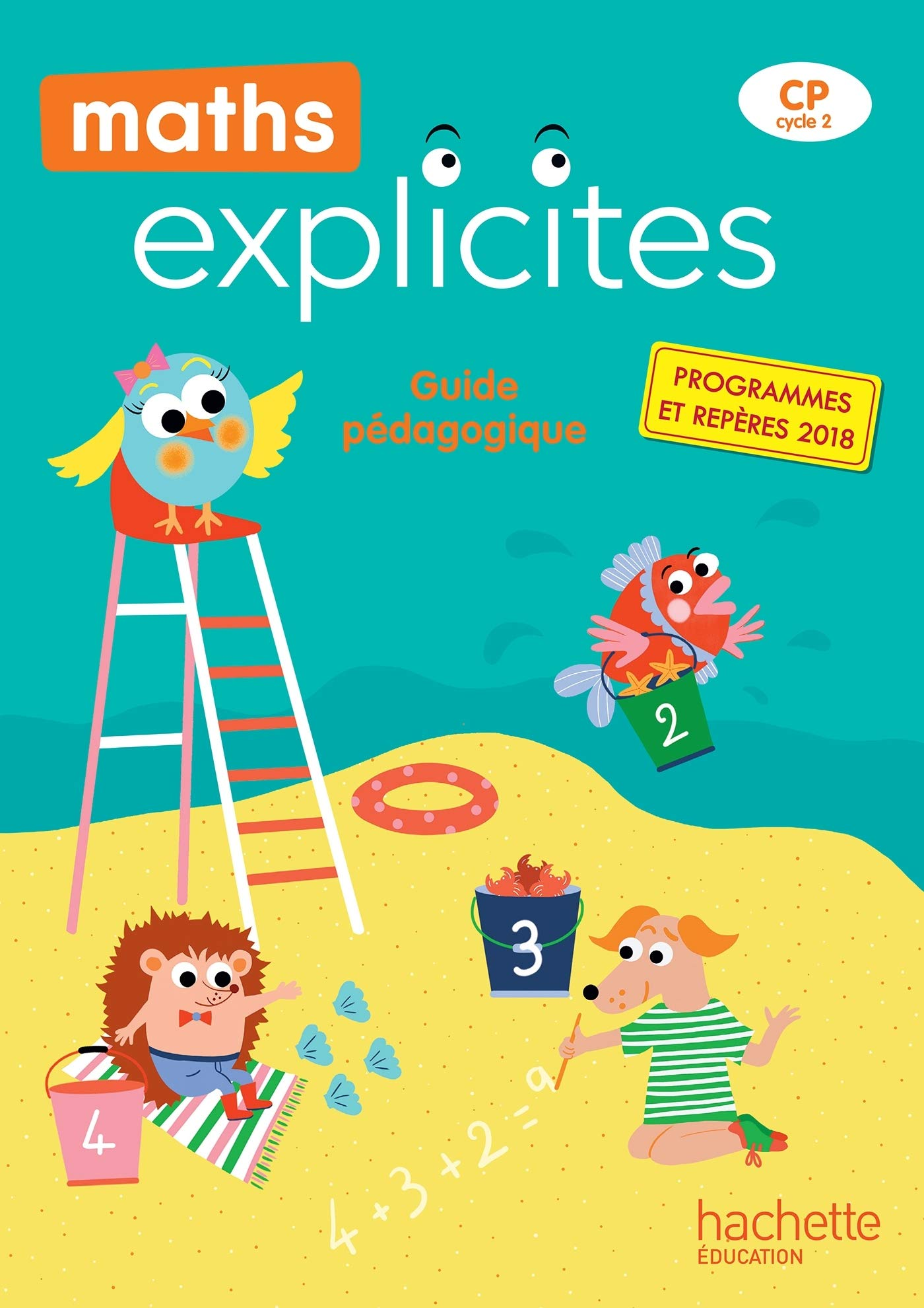 Maths Explicites CP   Guide pédagogique + Clé USB   Edition 40 ...