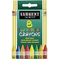 Sargent Art 35-0535 8 Ceras, peggable y Fluorescente
