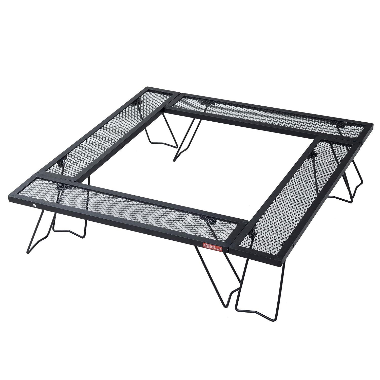 テントファクトリー テーブル ウッドライン スチールワーク コネクションテーブル 4台セット TF-WLSW-C4 B00J7K9HBW