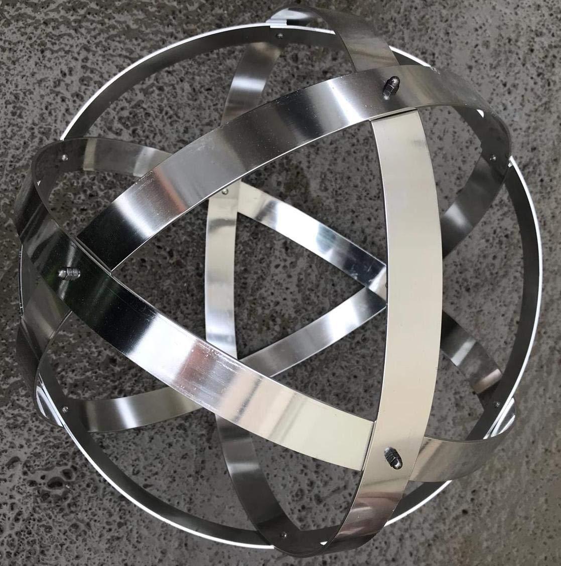 Genesa 32 cm in alluminio ramato