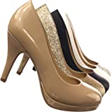 Topshoeave Jack Round Toe Extra Cushioned Comfort Classic Dress Work Pumps
