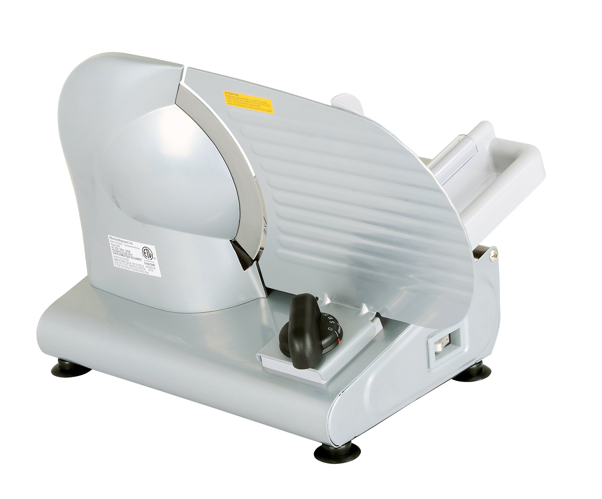 Kitchener 9-inch Professional Electric Meat Deli Cheese Food Slicer, Stainless Steel Blade, 150 Watt by Kitchener (Image #6)