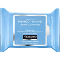 Neutrogena Makeup Remover Towelettes 25 Wipes, White, 205 g