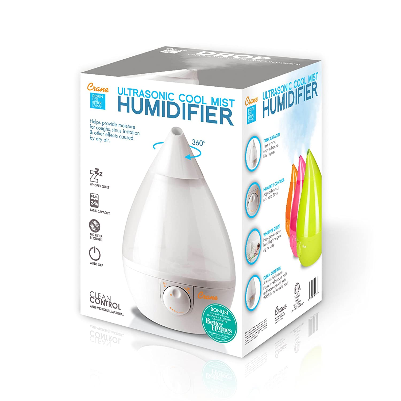 Amazon Crane Usa Humidifiers Ultrasonic Cool Mist Humidifier
