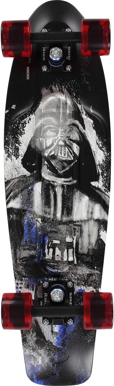 Black Schwarz IN Unisex Penny Cruiser 27 Darth Vader Skateboard Erwachsene