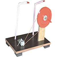 StepsToDo (with device) DC Generator Making Kit Do It Yourself Convert Mechanical Energy to Electricity