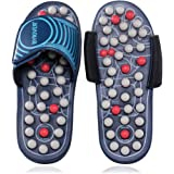 BYRIVER Acupressure Foot Massage Slippers Shoes Sandals Reflexology Massager Relive Arthritis Back Pain, Christmas Gift for Mum Dad(05L)