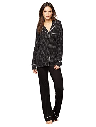 8110fce9833f5 A Pea in the Pod Relaxed Fit Nursing Pajama Set at Amazon Women's Clothing  store: