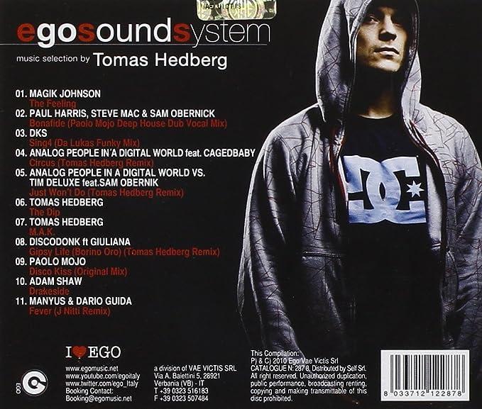 Ego Sound System Pres  Tomas Hedberg: Amazon co uk: Music