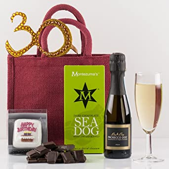 Natures Hampers Happy 30th Birthday Gift Bag