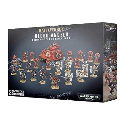 Games Workshop Warhammer 40,000 Blood Angels Crimson Spear Strike Force: Toys & Games