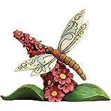 Enesco Jim Shore Heartwood Creek Mini Dragonfly Figurine, 2.75-Inch