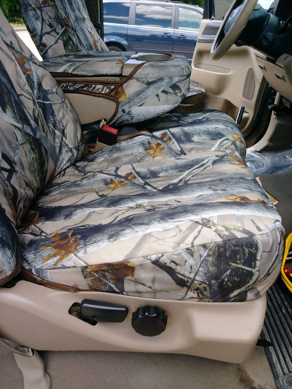 Rear 60//40 with Armrest 40//20//40 High back seats XD3 C Front Seat Console Durafit Seat Covers made to fit.2002-2010 Ford F250-F550 Truck Super Crew//Xcab Front AND Back Waterproof Exact seat Covers