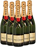 Moet and Chandon Brut Imperial Champagne Pinot Noir-Chardonnay-Pinot Meunier NV 75 cl (Case of 6)