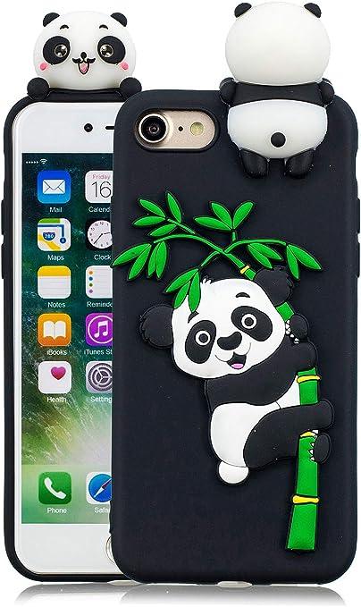 coque iphone 8 panda kawaii