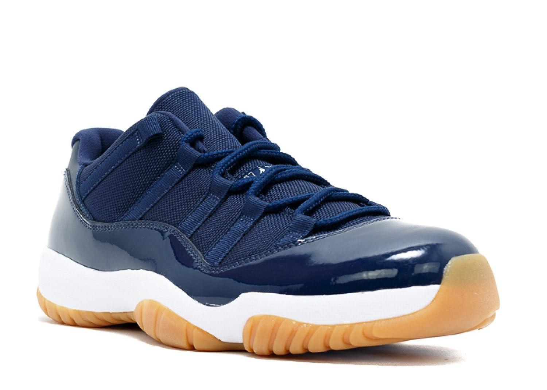9f9f6740127 Amazon.com | Air Jordan 11 Retro Low 'Navy Gum' - 528895-405 - Size 9 |  Basketball
