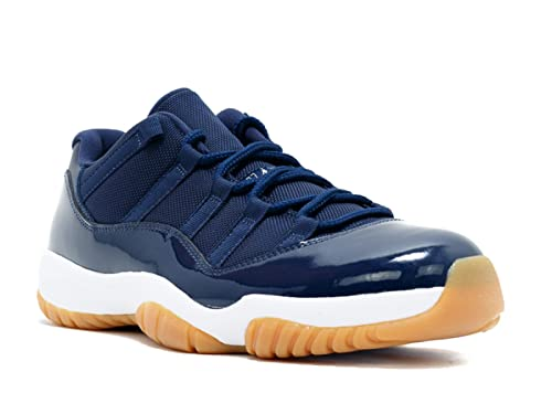 Nike Air Jordan 11 Retro Low, Zapatillas de Baloncesto para Hombre, Azul (Midnight