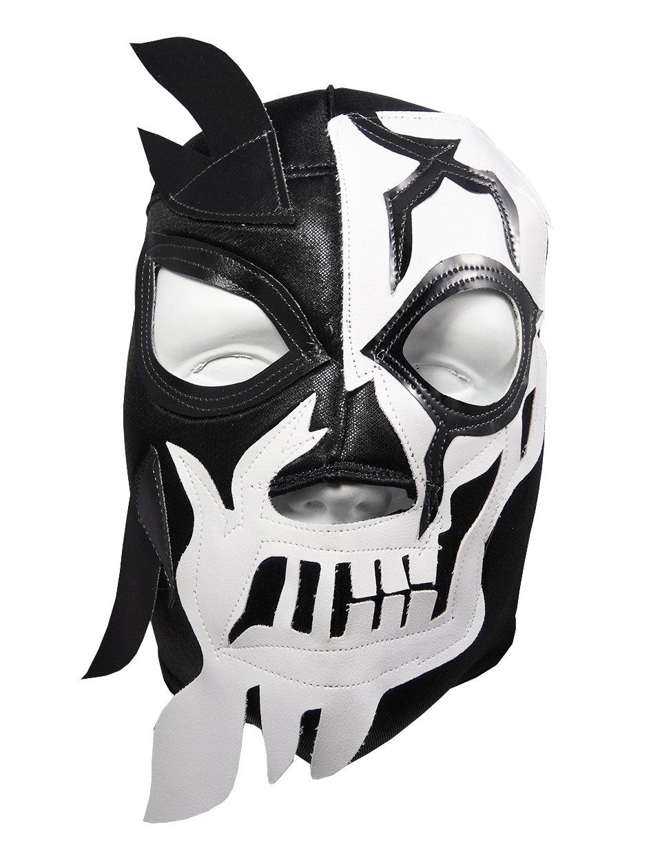 Amazon.com: HALLOWEEN SKULL Lucha Libre Wrestling Mask (pro-fit ...