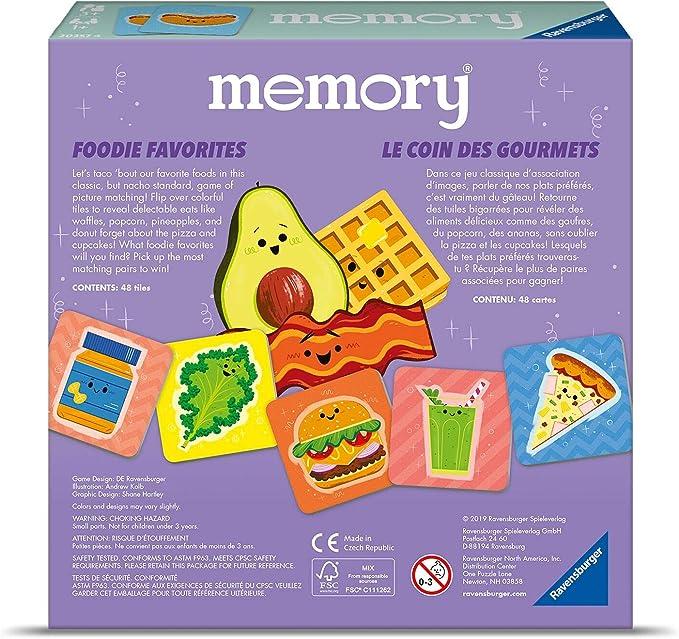 Ravensburger Foodie Favorites Memory En//F
