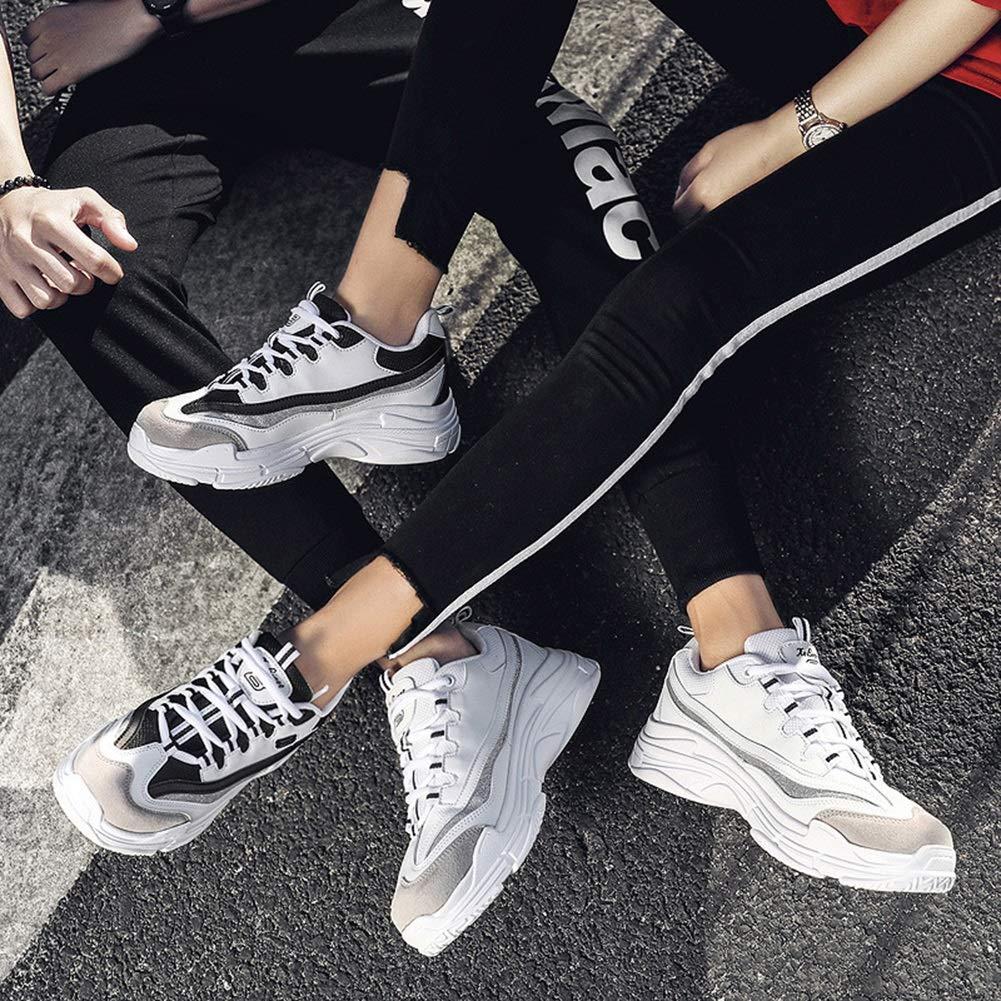 Damen Turnschuhe Turnschuhe Turnschuhe Liebhaber Turnschuhe 2018 Neue Erhöhen Sie Die Weißen Schuhe Herbst Und Winter Unisex Turnschuhe (Farbe   B Größe   41) 6421cd