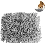PAWACA Dog Snuffle Mat, Feeding Mat for Dogs, Pet Nose Work Smell Snuffle Rug Training Foraging Skill Blanket Puppy Play Carpet, Durable and Machine Washable