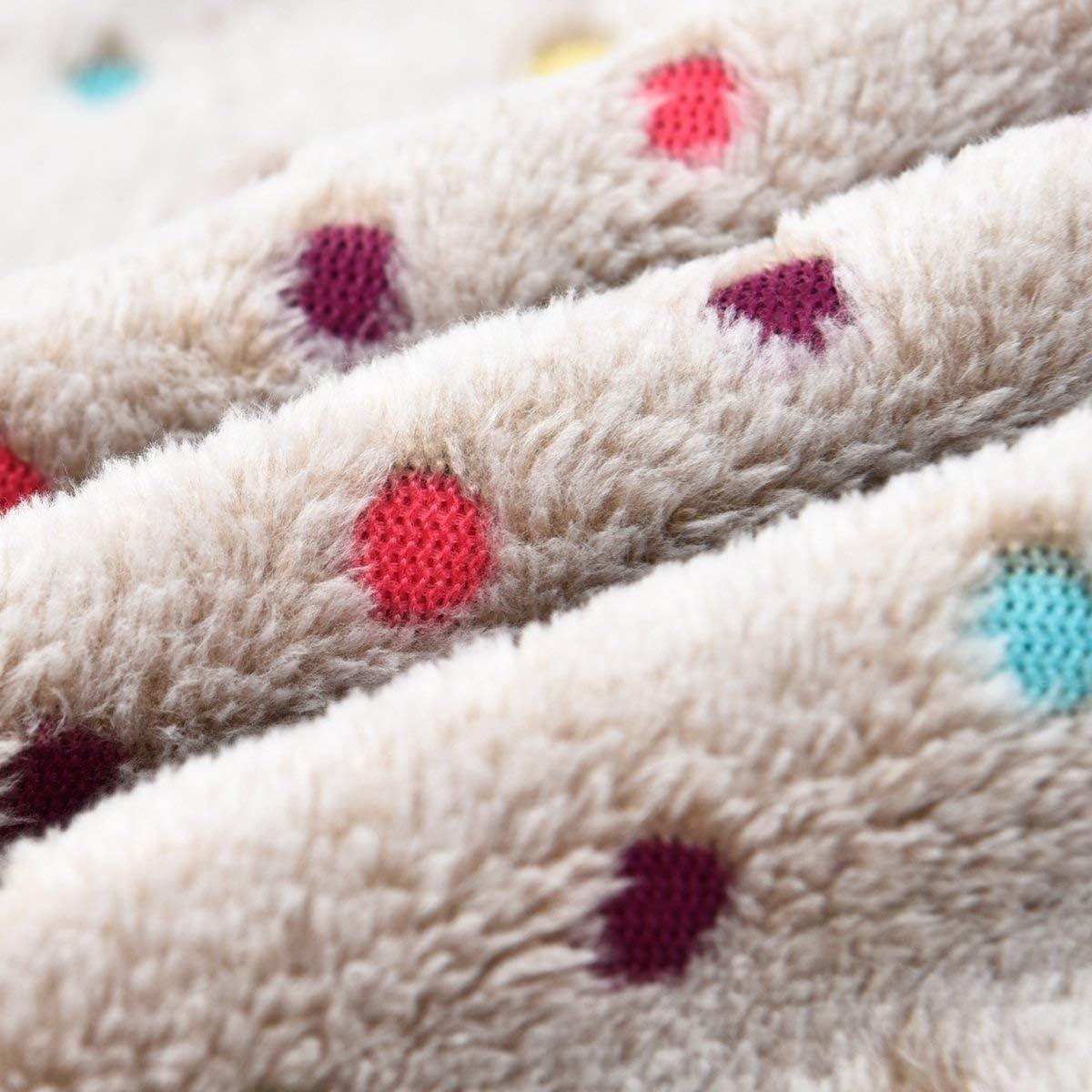 PAWZ Road Pet Dog Blanket Fleece Fabric Soft and Cute Grey L : Pet Supplies