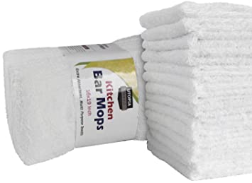 Amazon Com Utopia Towels Kitchen Bar Mop Cleaning Towels Pack