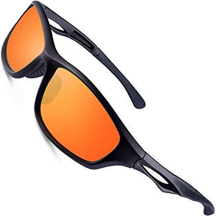 01d3da5909a Image Unavailable. Image not available for. Color  wearPro Sports Polarized  Sunglasses for Men Sports Polarized Driving ...