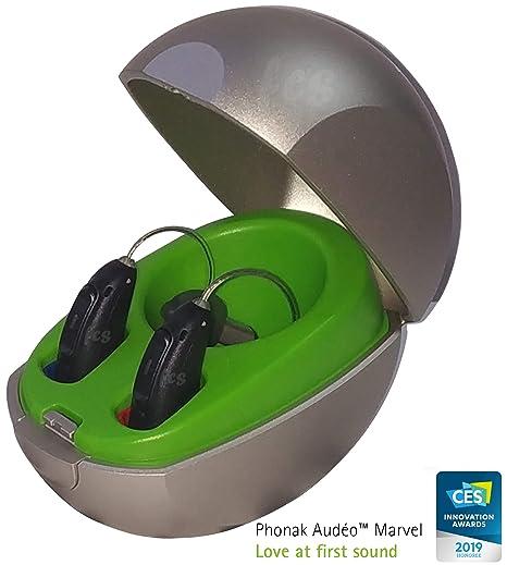 Phonak Audeo Marvel M50-R Bluetooth Enabled RIC Black (Left