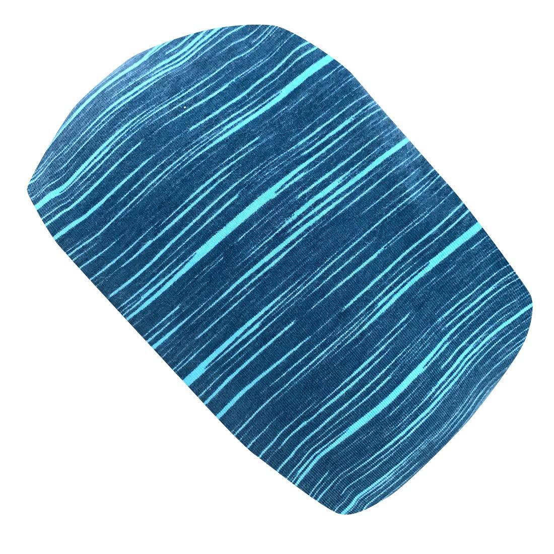 Wollhuhn 20194011 colore: Petrolio in tessuto ecologico Fascia elastica per capelli per ragazzi