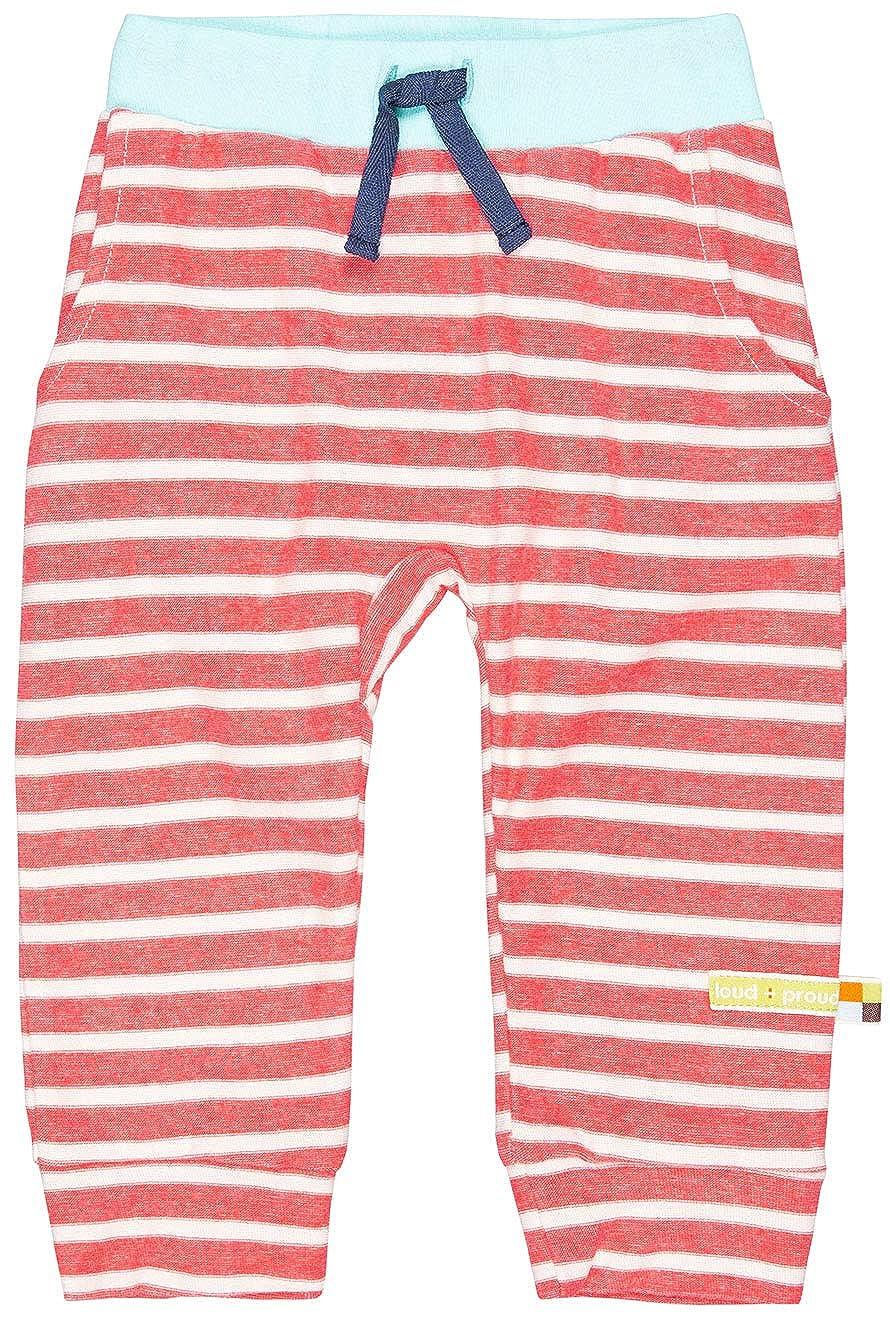 loud Pantaloni Bambina Hose Ringel aus Bio Baumwolle GOTS Zertiziziert proud
