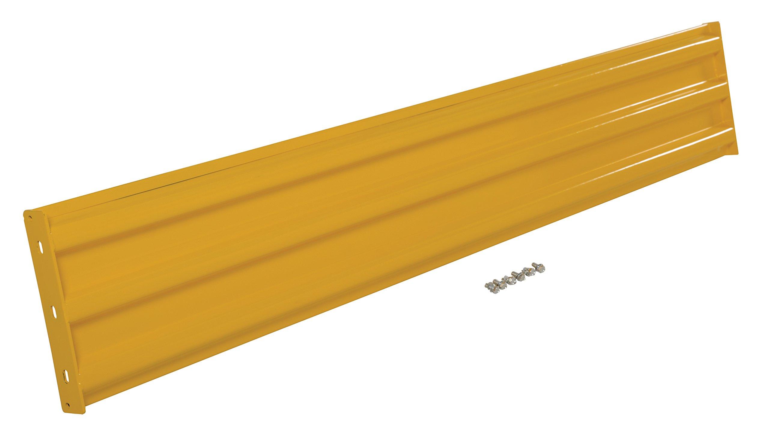 Vestil YGR-B-8 Bolt-On Style Guard Rail44; Yellow - 8 ft.